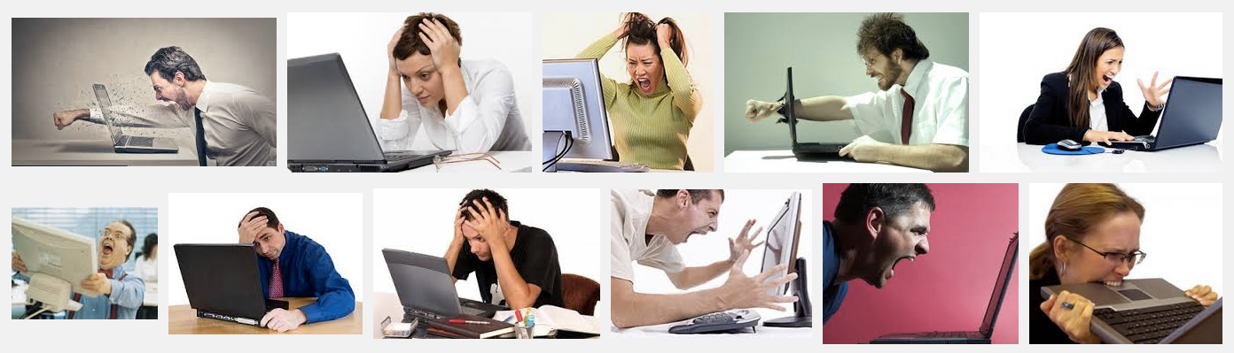 "Google image search for ""frustrated computer user"""