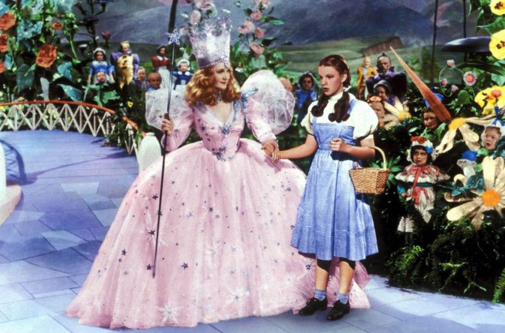 Dorothy is sent on her mission in the Wizard of Oz