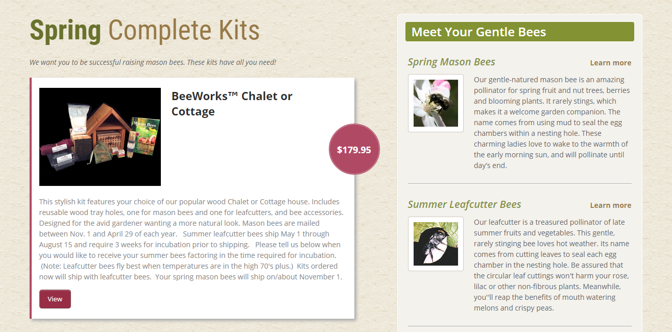 Screenshot of the Getting Started page