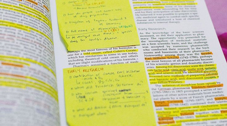 Annotated textbook