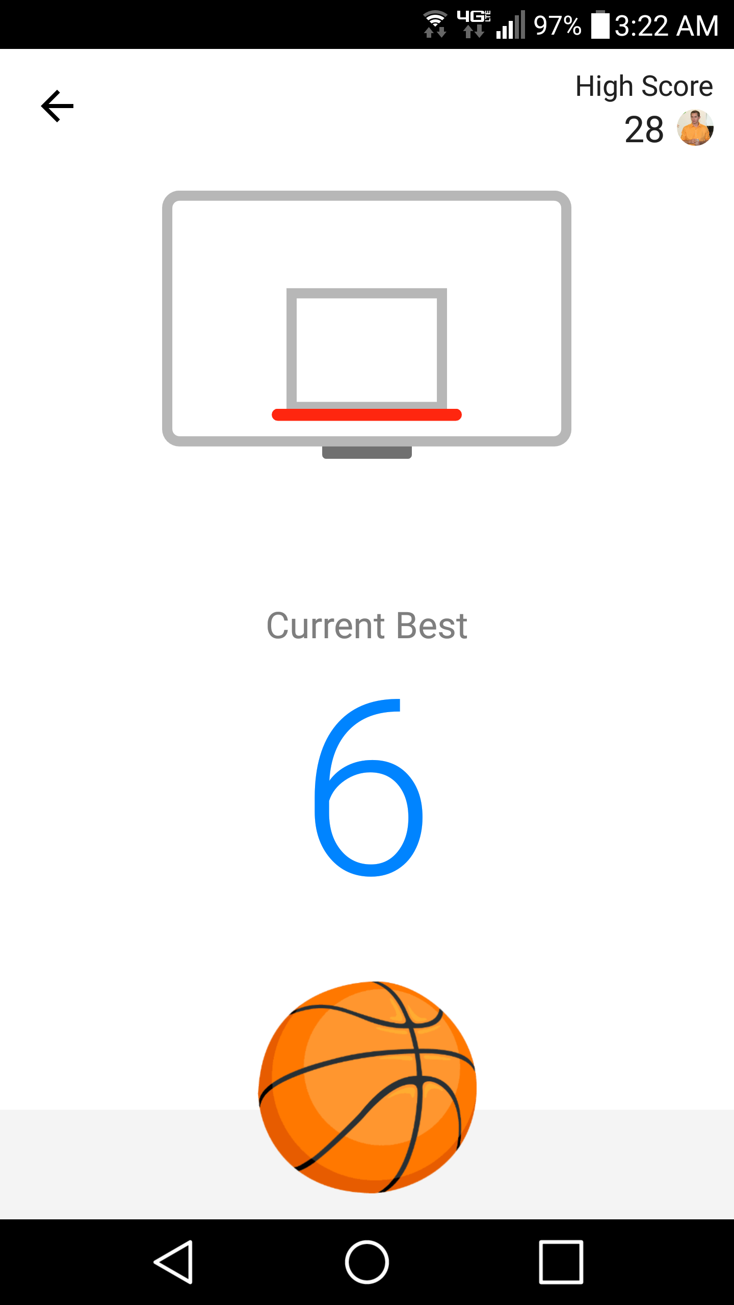 Messenger Basketball personal high score