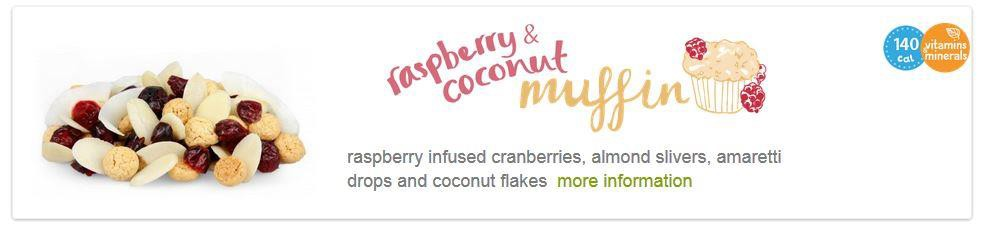 One of Graze's snack from the Our Foods page