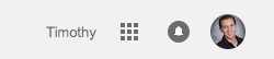 Grid icon from gmail