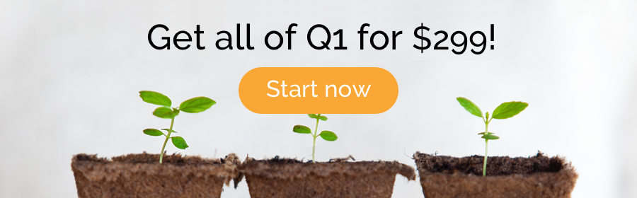 Get user testing for all of Q1 for $299 - Start now