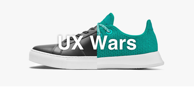 UX Wars Greats vs Allbirds feature image
