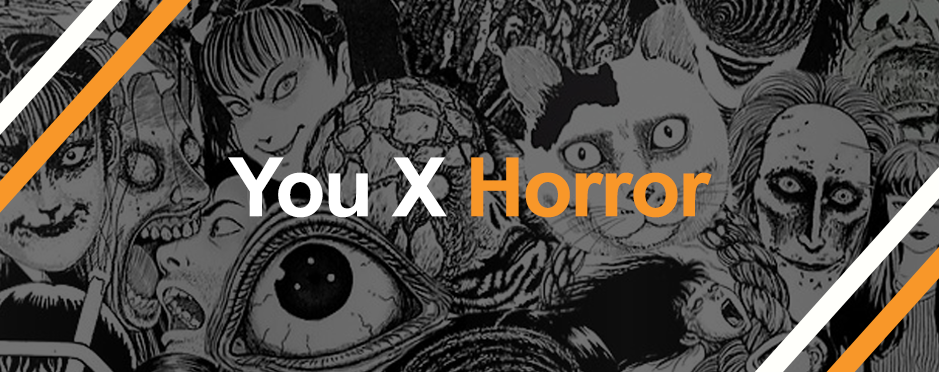 Collage of Junji Ito works for You X Horror