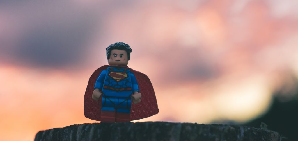lego superman being dramatic and heroic trymyui blog ux research