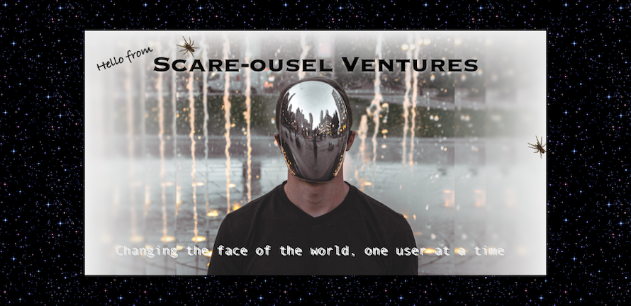 Scare-ousel Ventures banner image from the UX House of Horrors