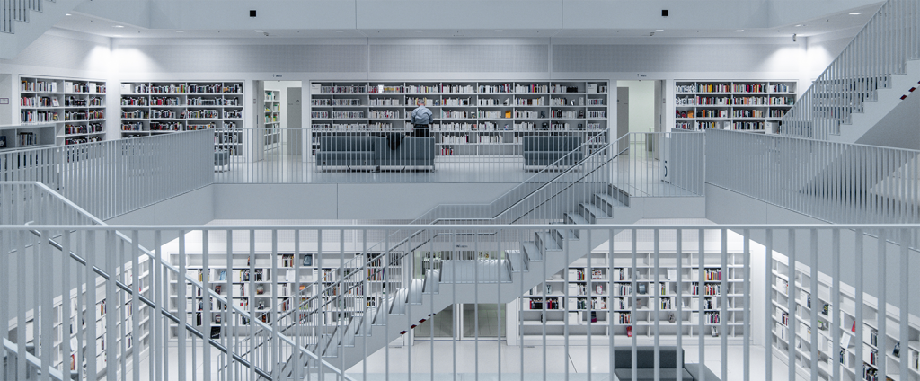 library metaphor for seo linking and ux copy