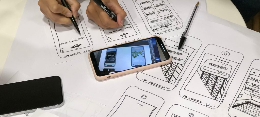 collaborative mobile phone ux design