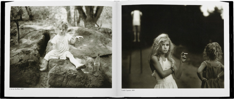 page from sally mann's immediate family used to inspire great ux design with trymyui