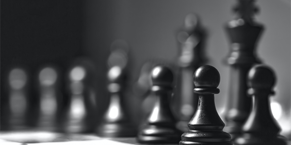 User testing strategy chess header